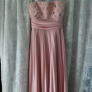 Maxi Blush Dress